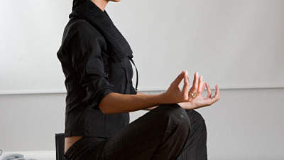 Meditate for a minute