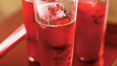84. Mocktail: Pomegranate Frost