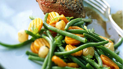 greenbeans-steak-dish