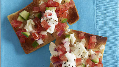 Flavor your dishes with feta
