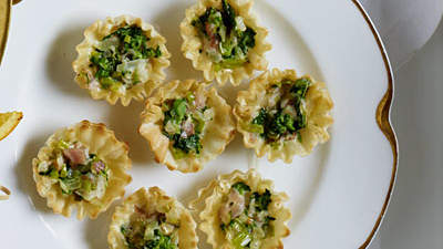 leek-broccoli-tartlets