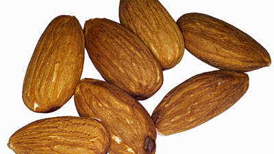 six-almond-nuts