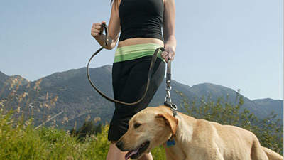 exercising-with-dog