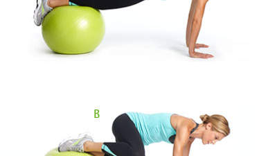 How-to: Plank Tuck with a Twist