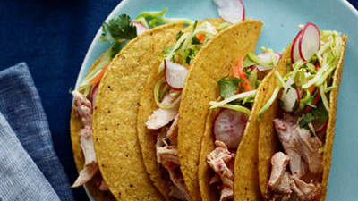 AdoboLime Chicken Tacos
