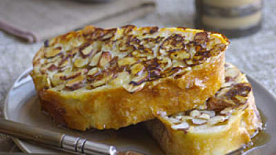 Almond Ciabatta French Toast