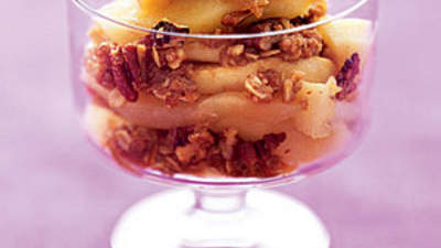 Dessert: Double Apple Crumble