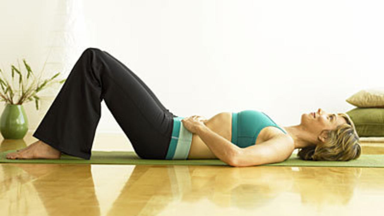 Menstrual cramp relief positions for sexual health