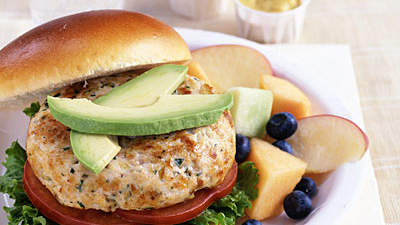 burger-with-vegetables