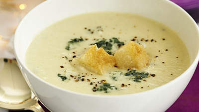 cauliflower-potato soup