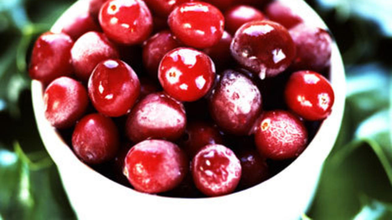 More Good News About Cranberries