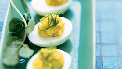 New American Deviled Eggs