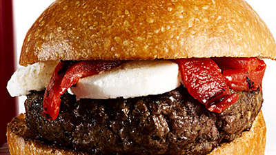 French Beef Burger