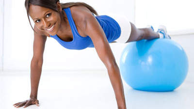 The best tool for fab abs: Stability ball