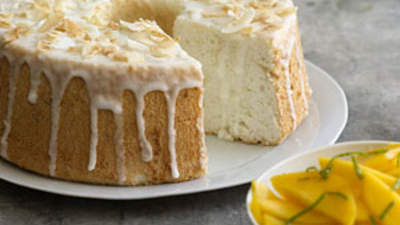 lime-glazed-angel-food-cake