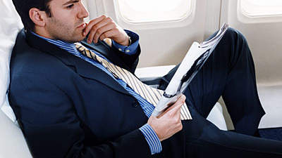 man-airplane-seated