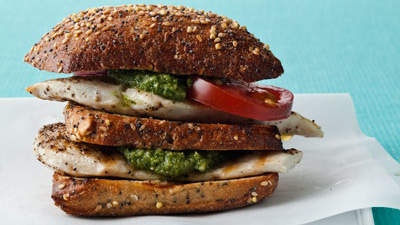 Mini Grilled Chicken Clubs