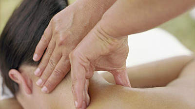 Massage away stress