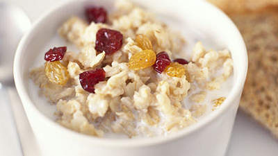oatmeal-dry-cranberries