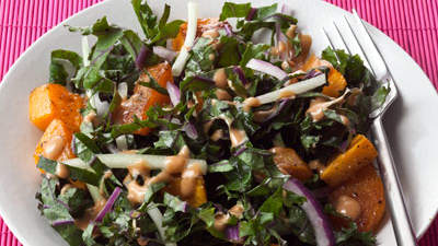 roasted-squash-kale-salad-recipe-roundup
