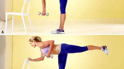 Single-Leg Dumbbell Row