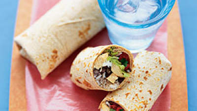 spicy-black-bean-burritos