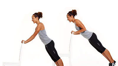 Tone up in town: Close grip push-up