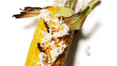 Spicy Grilled Corn With Feta and Lime