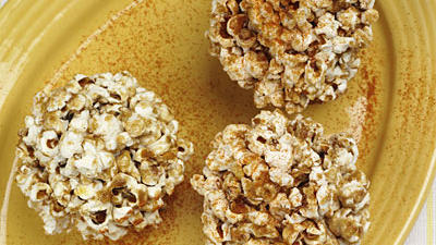 Honey-And-Spice Popcorn Balls