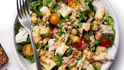 Spicy Chopped Chicken Salad