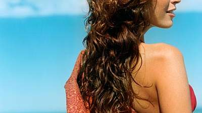 Create beachy waves