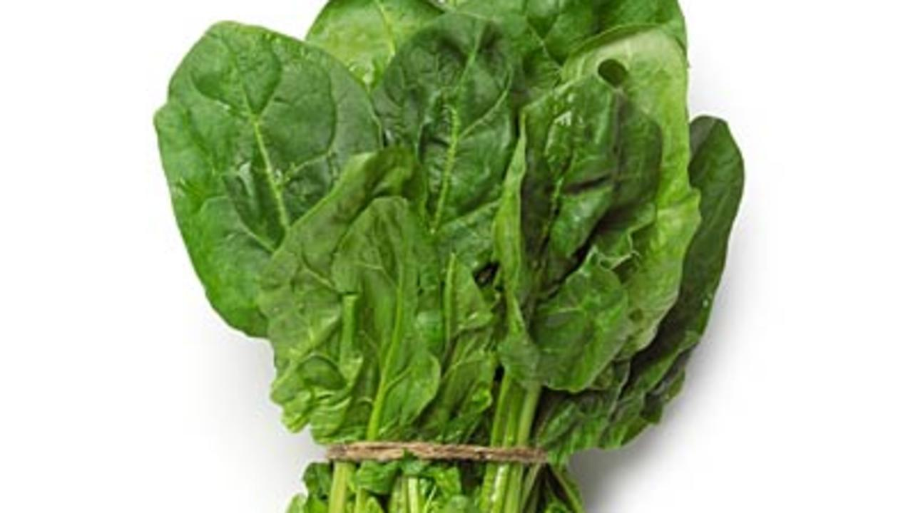 Moderate pick-me-up: Spinach