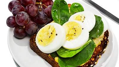 open-face-egg-sandwich