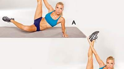 Hamstring Stretch with Hip Flexor Tuck