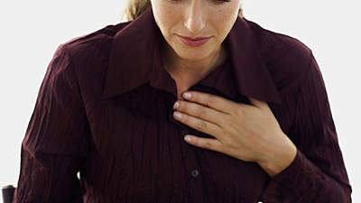 Chest pain and pressure