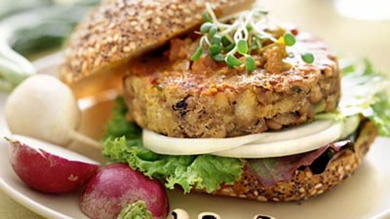 5 Delicious Homemade Veggie Burgers