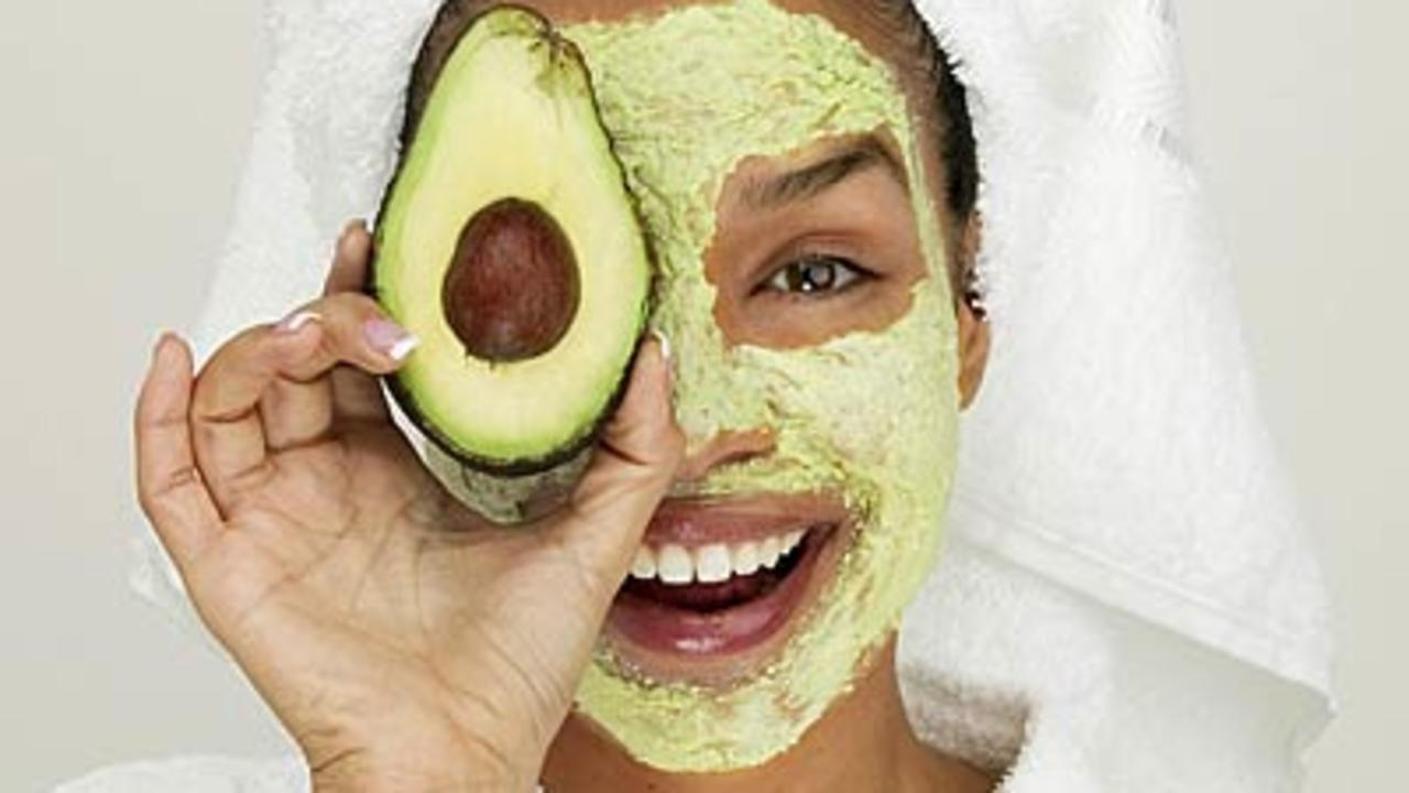 food-facial-mask