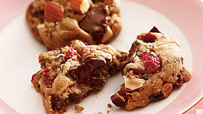 cherry-almond-choco-cookies