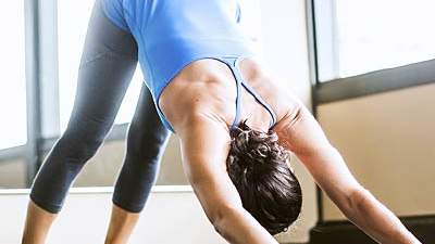 Downward-Facing Dog or  Adho Mukha Svanasana