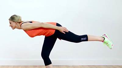 warrior yoga pose  health