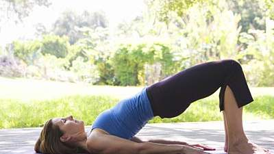 Bridge Pose or  Setu Bandha Sarvangasana