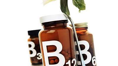 A vitamin B12 deficiency