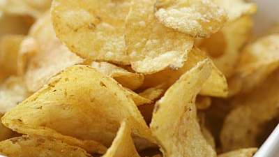 Low-fat potato chips