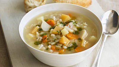 Broth-based soup