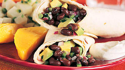 black-bean-tortilla-wraps