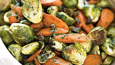 brussel-sprouts-crispy-capers-carrots