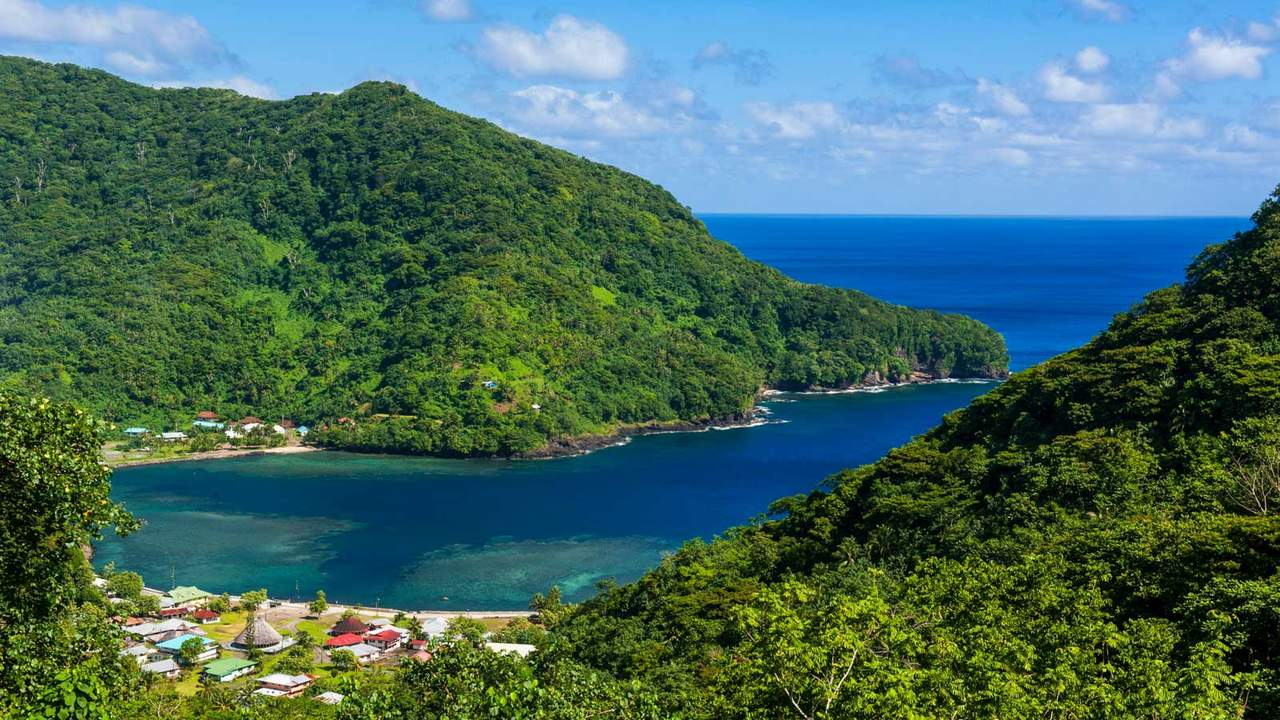 The National Park of American Samoa is a popular location for snorkeling.