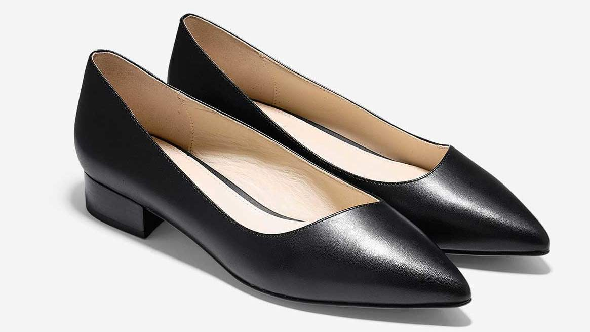 The Pointed-toe Go-to: 'Heidy' Skimmer Flat