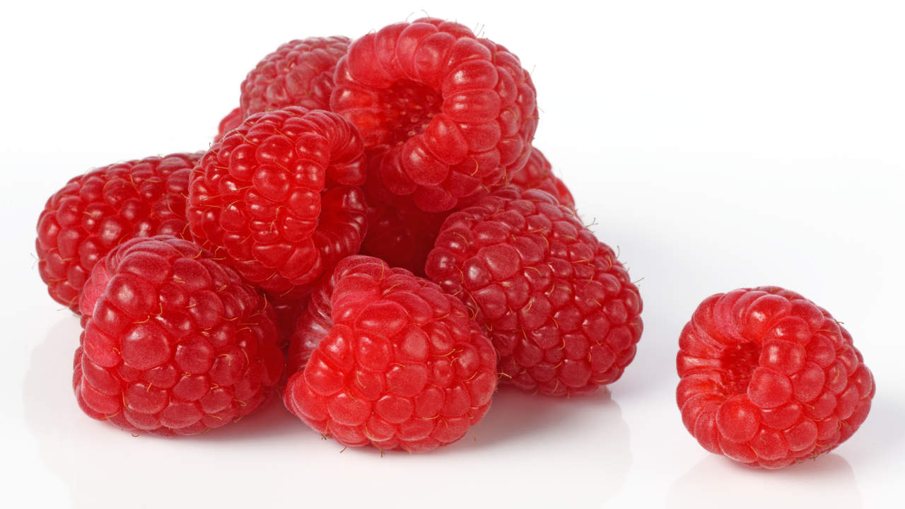 raspberries antioxidant content