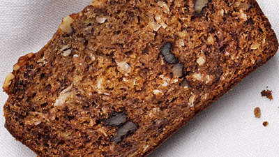 Banana Bread with Coconut and Walnuts